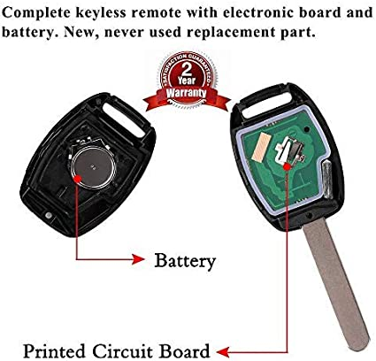 HousewareZone Remote Key Fob Shell Case Fit Nissan Infiniti KR55WK48903 Smart Key