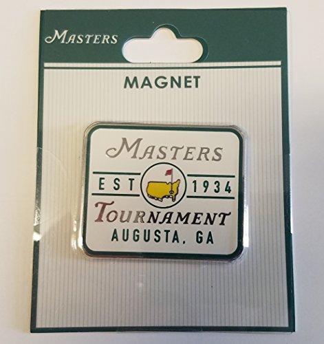 2018 Masters Golf Tournament Est 1934 Augusta National White Magnet