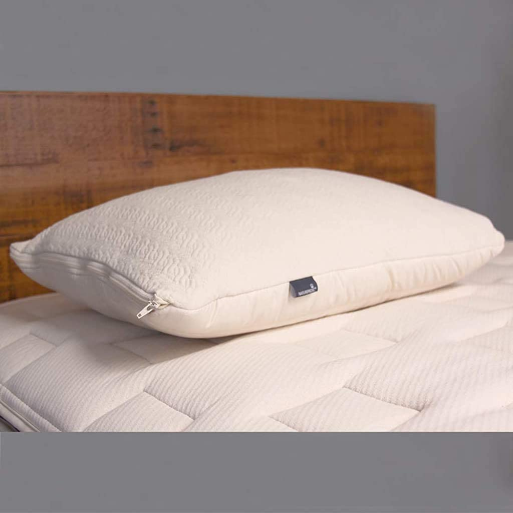 Naturepedic Organic 2-in-1 Latex Pillow Adjustable Fill King Washable