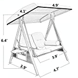Abba Patio 2-Person Outdoor Porch Swing Hammock