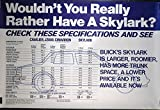 1983 1984 Buick Skylark Cimarron Cavalier J2000 Poster
