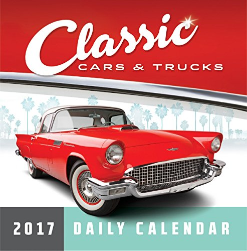 Turner Photo 2017 Classic Cars & Trucks Photo Daily Boxed Calendar (17998970007)