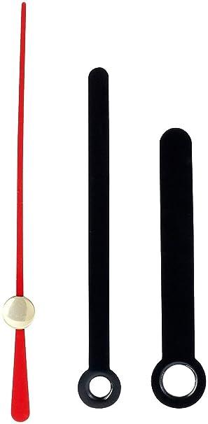 Uhrzeiger selber basteln  Quarz-Uhrwerk mit 3 Zeiger-Sets in 3 Größen: Amazon.de: Elektronik
