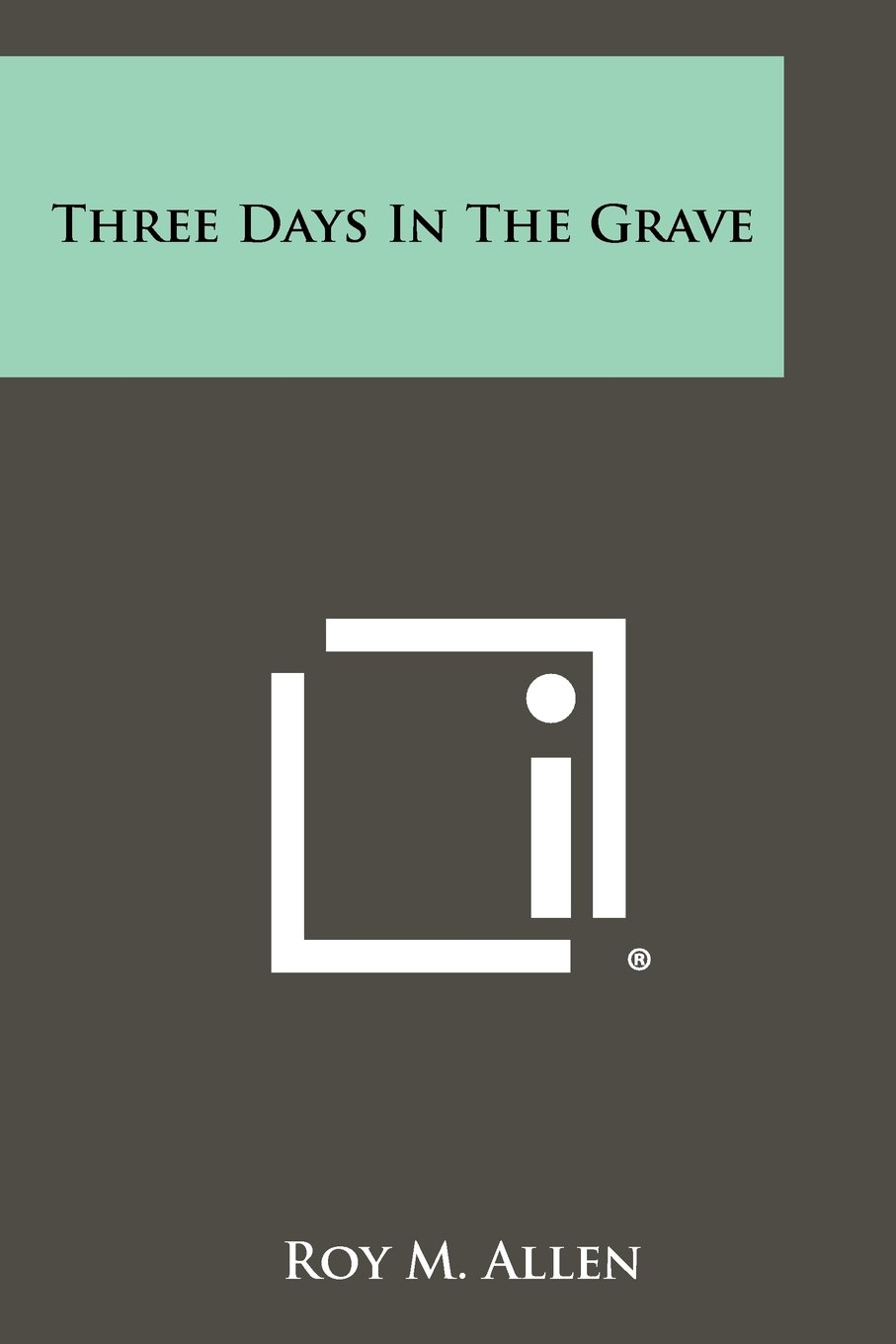 Download Three Days in the Grave ebook