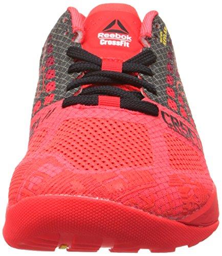 Black zapatos Neon Nano Reebok Formación de Cherry Chalk 5 Crossfit 0 qzUpw