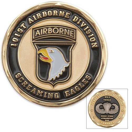 101st Airborne Division Challenge Coin (Eagle Crest 2260)