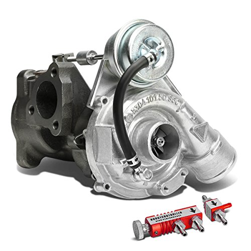 For Audi VW K03 EA113 B5 1.8 1.8T Turbocharger+Red 30 psi Boost Controller - Turbine A/R .87