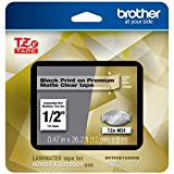 Brother P-touch TZe-M31 Black Print on Premium