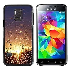LECELL -- Funda protectora / Cubierta / Piel For Samsung Galaxy S5 Mini, SM-G800, NOT S5 REGULAR! -- Sunset Beautiful Nature 101 --