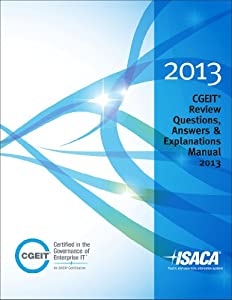 cgeit review questions answers and book by isaca rh thriftbooks com