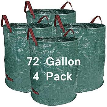 Amazon Com Hengu 4 Pack 72 Gallon Garden Bags Durable