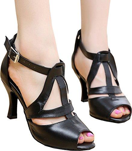 CFP Zapatillas de Danza de Tela Para Mujer Gris Gris RBiZE4XJ