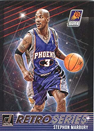 7ccb950e3 2018-19 Donruss Retro Series  8 Stephon Marbury Phoenix Suns Basketball Card