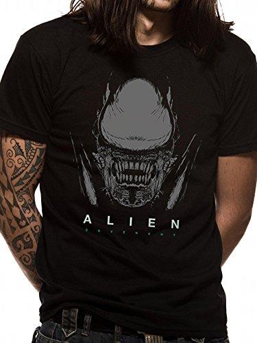 Alien Covenant Ridley Scott Xenomorph Head offiziell Männer T-Shirt Herren