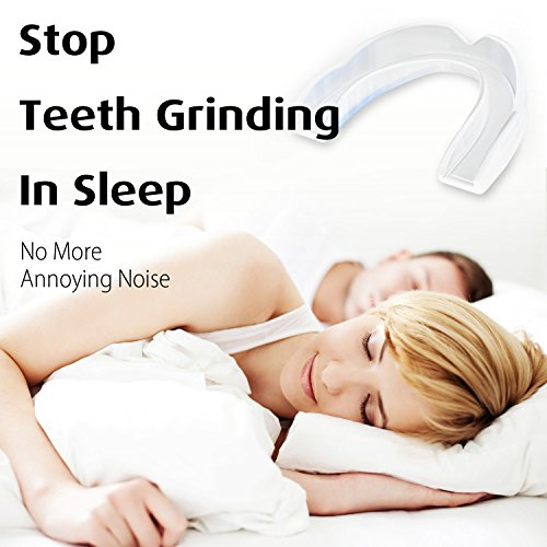 Professional Dental Night Guard - for Peaceful Sleep, eliminate Teeth Grinding, Bruxism, and TMJ - comes with 2 Dental guards, SMALL and LARGE size by Jumping Koi (Image #2)
