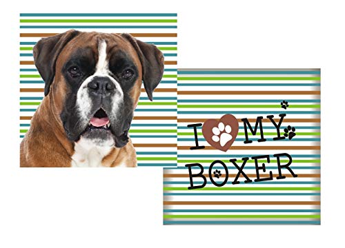 Almofada Pet de Raças Boxer SS Pets para Cães, 45x45cm