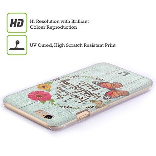 Head Case Designs Wonderfully Made Charm Campagnolo Cover Retro Rigida per Apple iPhone 5 / 5s / SE
