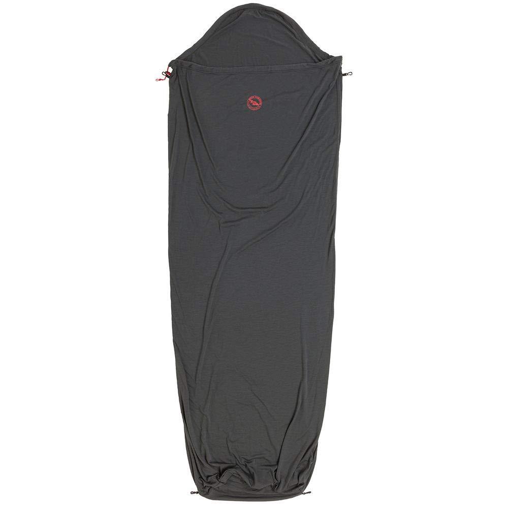 Big Agnes Wool Sleeping Bag Liner, Gray, 82'' by Big Agnes