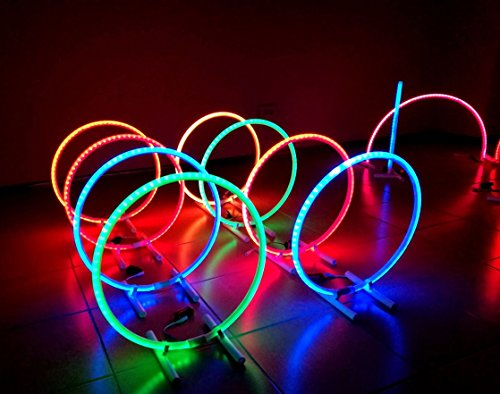 LED circle light for drone racing