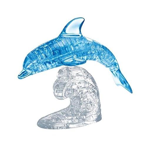 HCM 59115 - Crystal Puzzle - Dolphin - 100 Pièces - Bleu