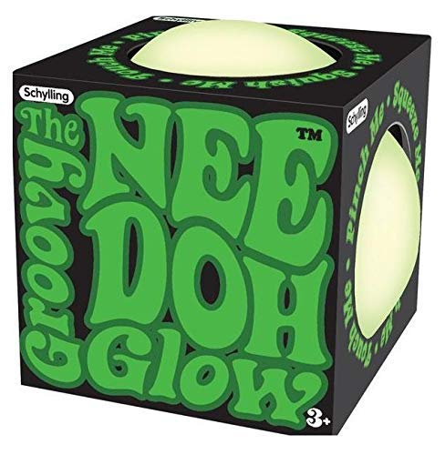 Schylling The Groovy Glowing Glob! Glow in The Dark Nee Doh