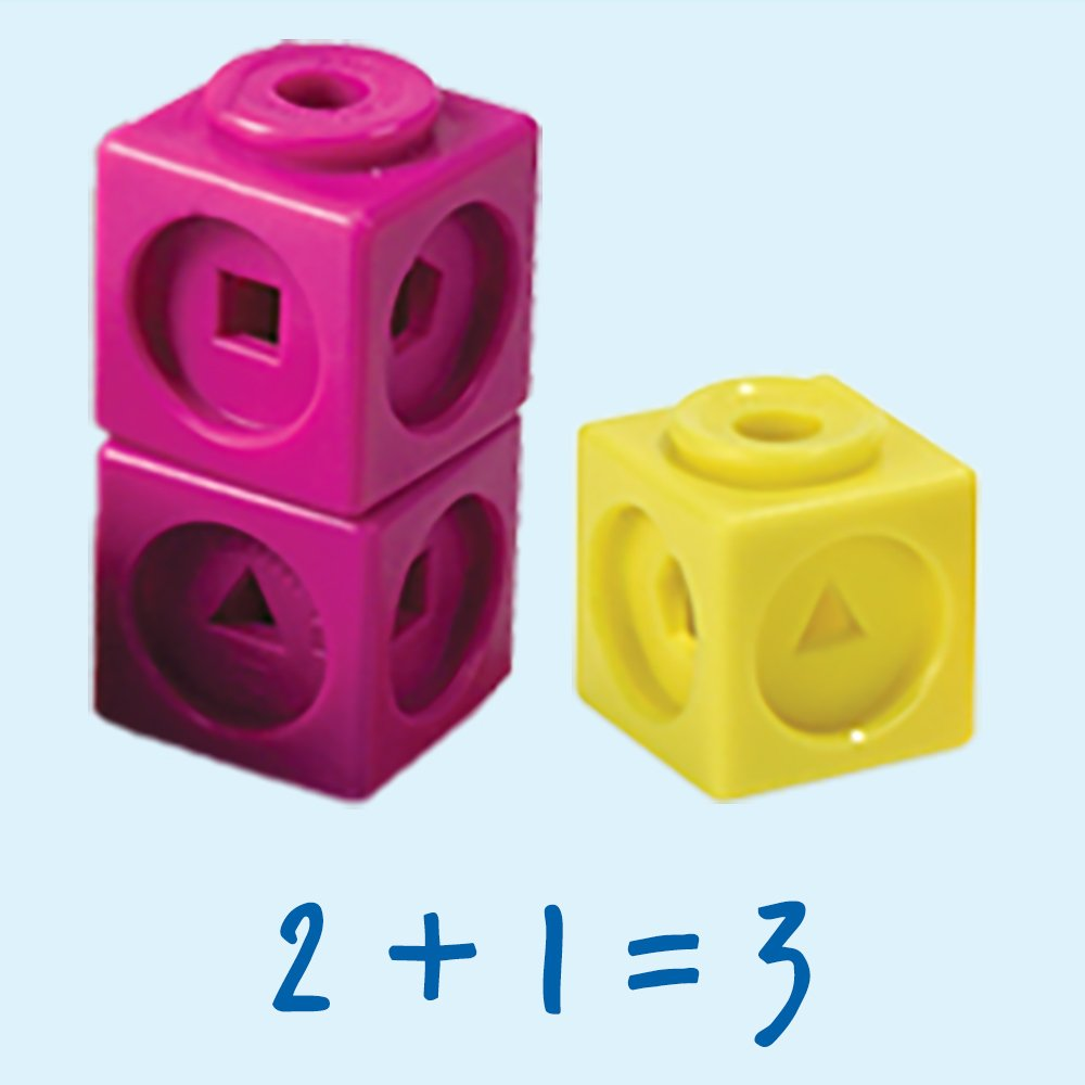 Learning Resources Mathlink Cubes, Educational Counting Toy, Set of 100 Cubes by Learning Resources (Image #3)