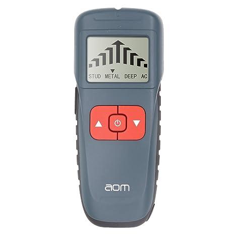 Detector de metales Stud Finder, pantalla LCD, escáner de pared multifunción, sensor de