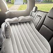 Inflatable Car Air Mattress,Bozhirui Car Air Mattress Removable Backseat Air Bedwith Air-Pump, Portable Car T