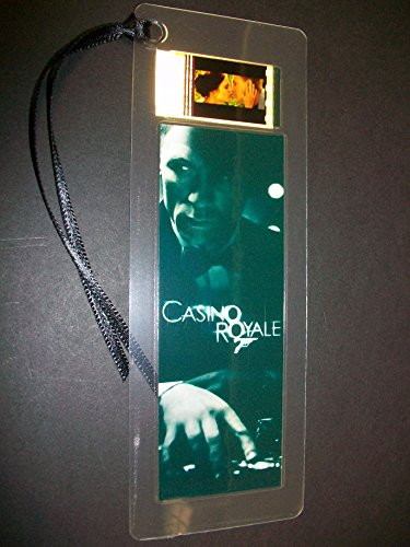 CASINO ROYALE Movie Film Cell Bookmark Memorabilia Collectible Complements Poster Book Theater