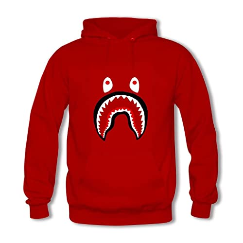 Bape Shark Pullover Hooded Sweatshirt Men Hoodies