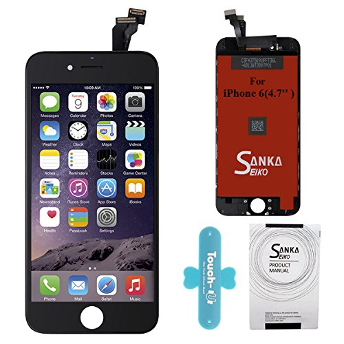 Cheap Replacement Parts SANKA iPhone 6 LCD Screen Replacement Repair Kit, Digitizer Display Touch Screen..