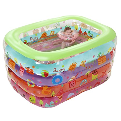 LQQGXL,Bath Environmental Inflatable Bathtub / Swimming Pool Child / Baby Electric Taps Pool (140 110 70cm) Inflatable bathtub by LQQGXL (Image #3)
