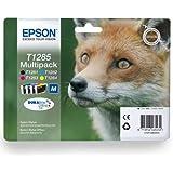 4 Pack Epson Original Printer Ink Cartridges for T1281 T1282 T1283 T1284