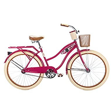 Huffy Women's Deluxe Fairview Cruiser Bike, 26 /Large