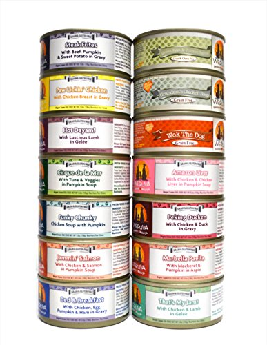 Weruva Dog Food Variety Box - All 14 Flavors - 5.5 Ounces Ea
