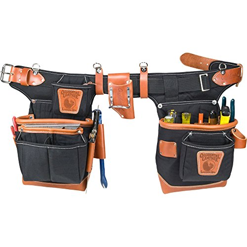 Occidental Leather 9850 Adjust-to-Fit Fat Lip Tool Bag Set - Black
