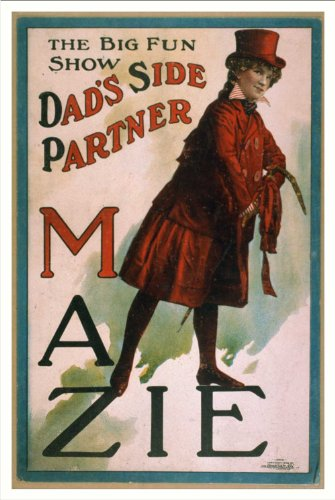 Historic Theater Poster (L), The big fun show Dads side partner Mazieà
