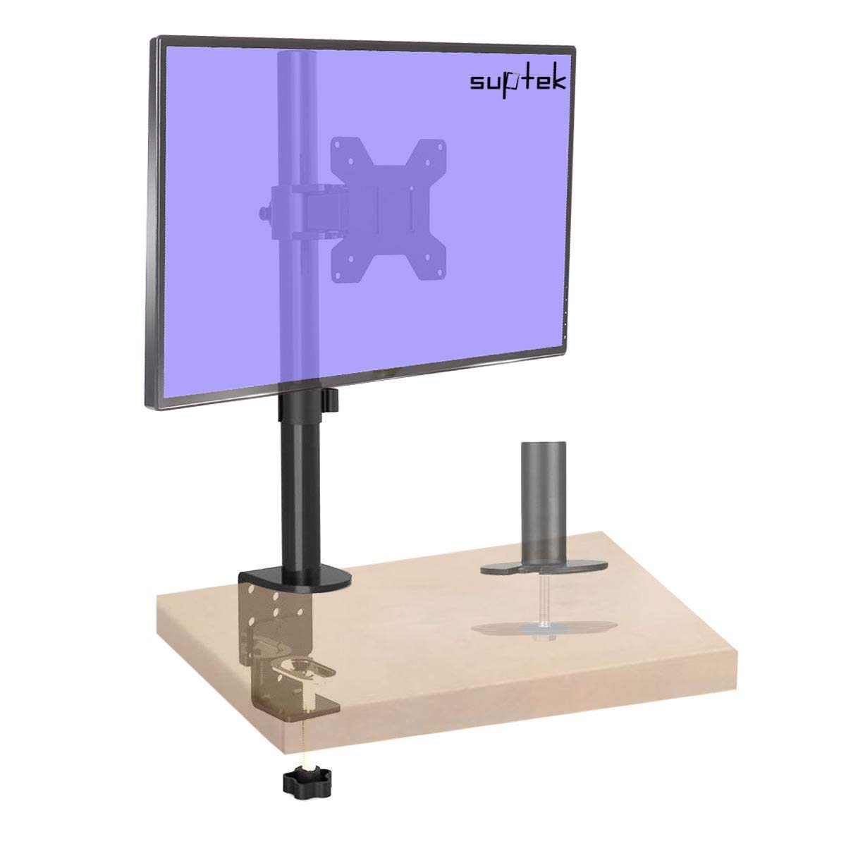 Braccio e supporto per monitor