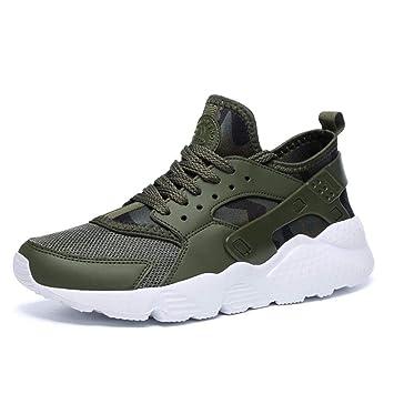 Xxoshoe Zapatillas para Caminar con amortiguación de energía para Hombre Zapatillas de Trail Running Zapatillas de Deporte con Cordones de Moda: Amazon.es: ...