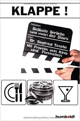Klappe Delikate Sprüche Und Mehr Der Stars Amazonde