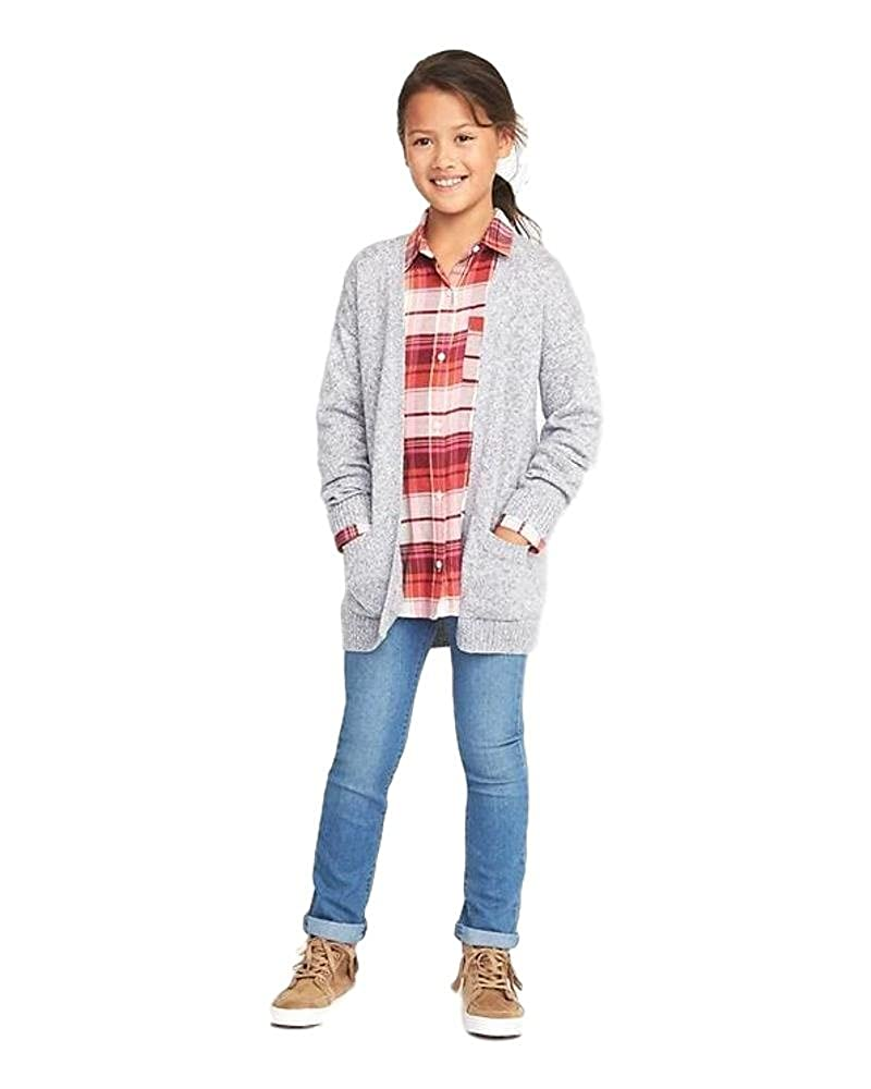 Old Navy Open-Front Boyfriend Sweater for Girls Marquee Moon Medium Size!