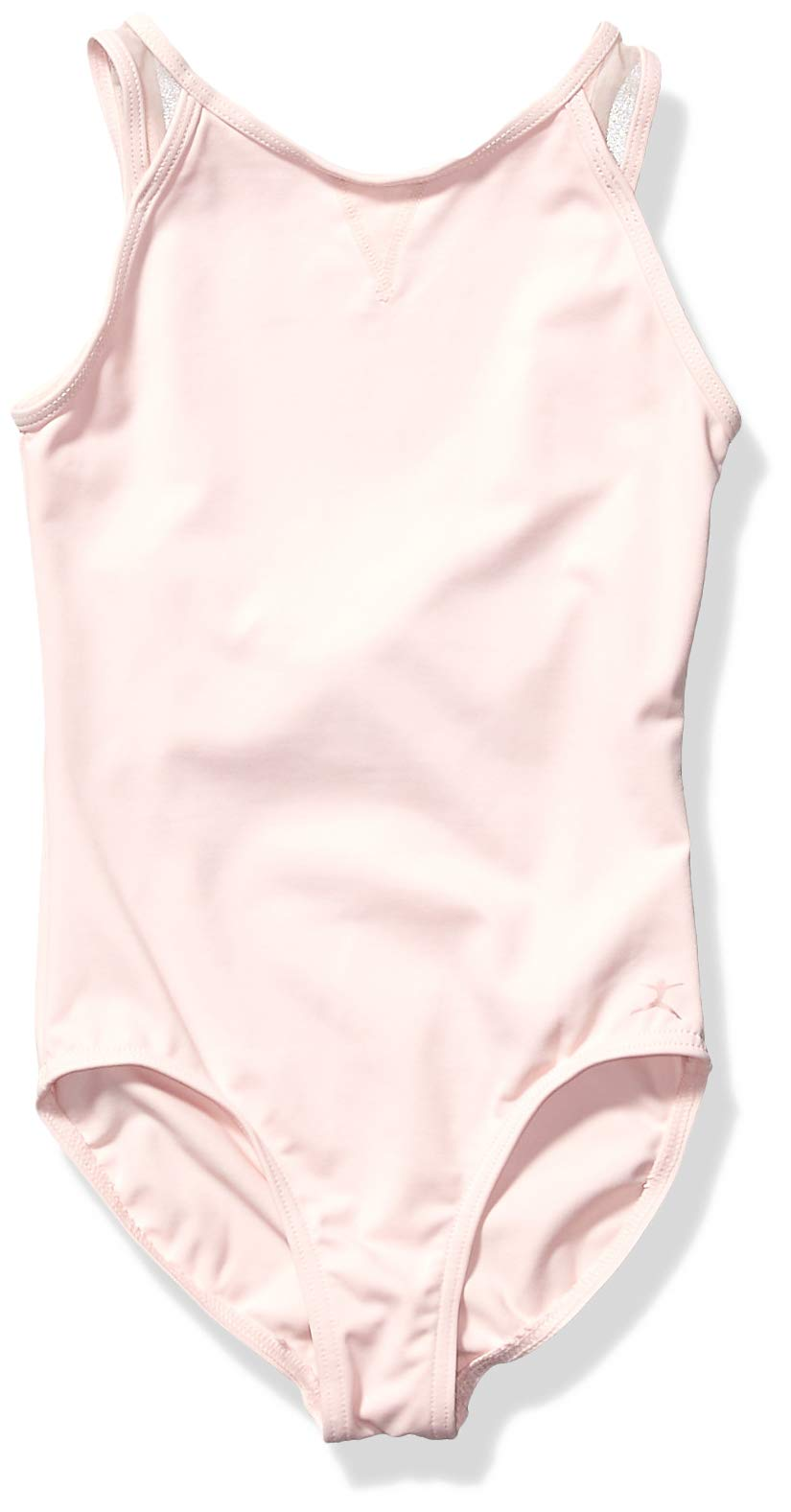 Danskin Girls Little Strappy Dance Leotard Petal Pink 68901 Small 46
