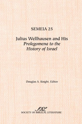 review of prolegomena to the history Prolegomena to the history of ancient israel has 31 ratings and 5 reviews guillaume said: the classic and controversial volume that popularized the docu.