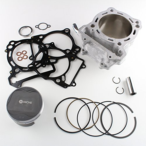NICHE 94mm 434cc Big Bore Cylinder Piston Gasket Kit for Arctic Cat 400 DVX 2004-2008, Suzuki Quadsport LTZ400 03-14, DR-Z400 2000-2015, Kawasaki KLX400R/SR 2003-2004, KFX400 2003-2006