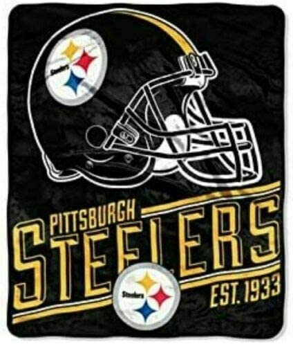 Pittsburgh Steelers 50 X 60 Silk Touch Throw By Northwest Kitchen Dining