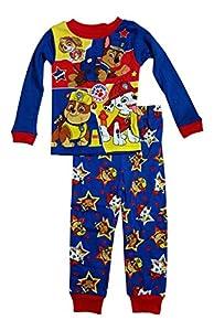 Paw Patrol Little Boys Toddler Long Sleeve Pajama Set