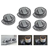 [UPGRADED] BUENAVO Universal Kitchen Stove Knob Covers Baby Safety Oven Gas Stove Knob Protection Locks for Child Proofing, 5 Pack