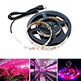 Plant Light, Superdream USB 3.3ft Waterproof Plant Light Strip Grow Light for Aquarium Greenhouse Hydroponic Garden Plant Flower Seeds Growth 5V 1M