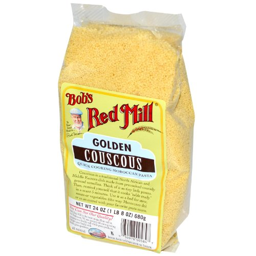 Bob's Red Mill Couscous Golden, 24-ounces (Pack of4) by Bob's Red Mill
