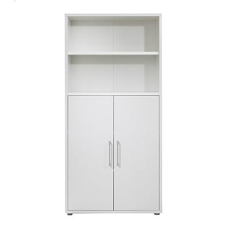Documenti armadio ufficio scaffale Prima, bianco, larghezza 49 cm ...